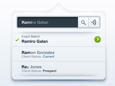 Ramirogalan dropdown
