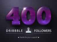 400 Followers!