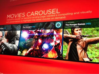 Movie Carousel ramiro ramiro galan galan design pixel kings movie media media player graphic graphic design interface interface ui typography
