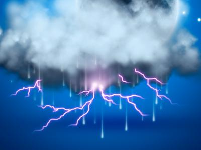 Lightning Storm WIP By Ramiro Galan