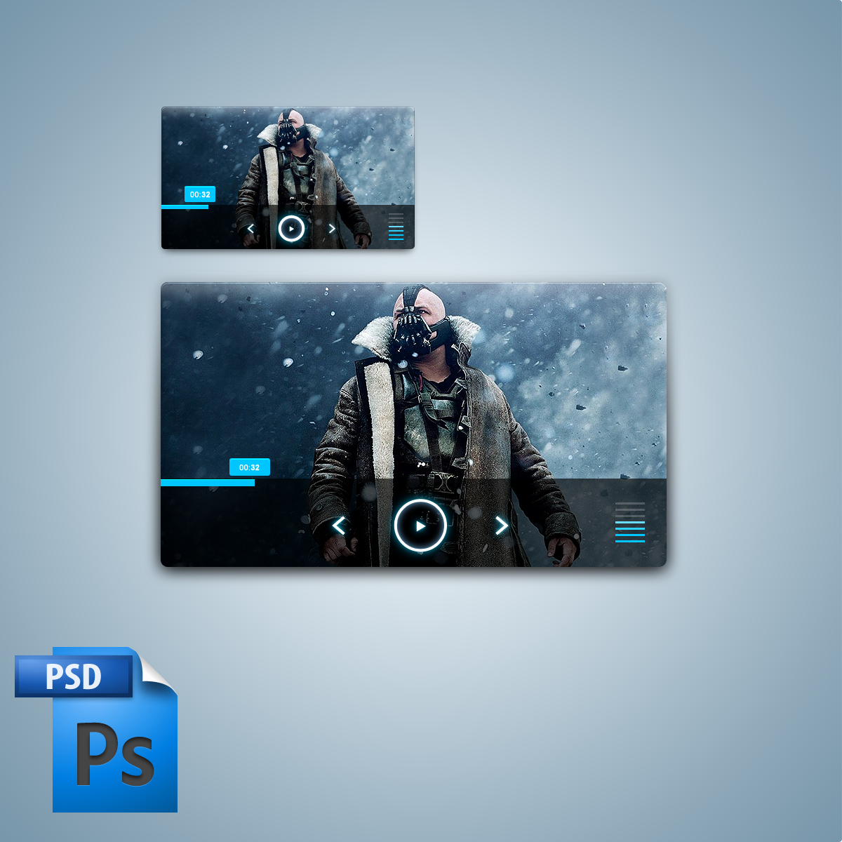 Media player large