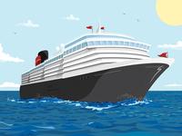 Ship Illustration
