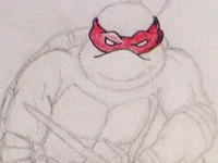 Raphael of the Turtles: Sketch