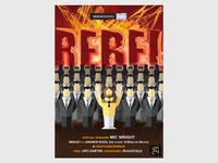 Creative Mornings:  Poster 9 - Rebel