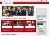 HFfA Homepage Design