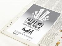 Trefoli Black & White Ad