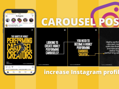 carousel post instagram design microblog feed viral carousel instagram post