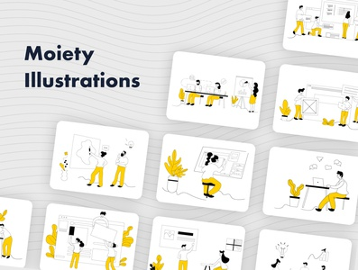 Moiety illustration pack