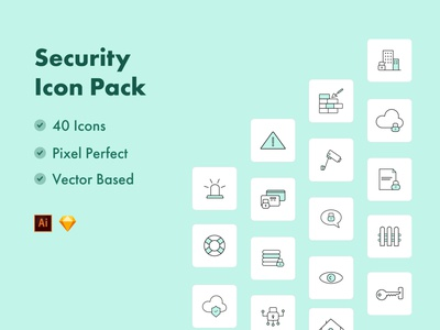 Security Icons webpages blogs illustrations hubspot icons pack icons set documentlock data encription safety pin cctv security clock antivirus shield alert alarm iconography safety safe icons