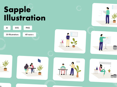 Sapple illustration uiux illustrations/ui icon set wordpress hubspot iconography pack branding packaging illustrations icon blog email landing home page design app web icons