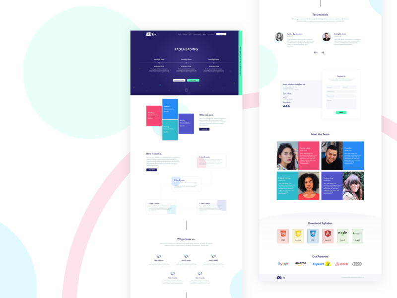 Homepage figma uiux website design homepage design sliders sketchapp photoshop adobe illustrator educational education testimonials team homepage