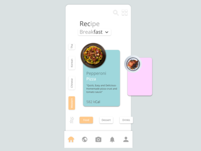Recipe App Home Page