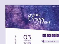 The Origin Event