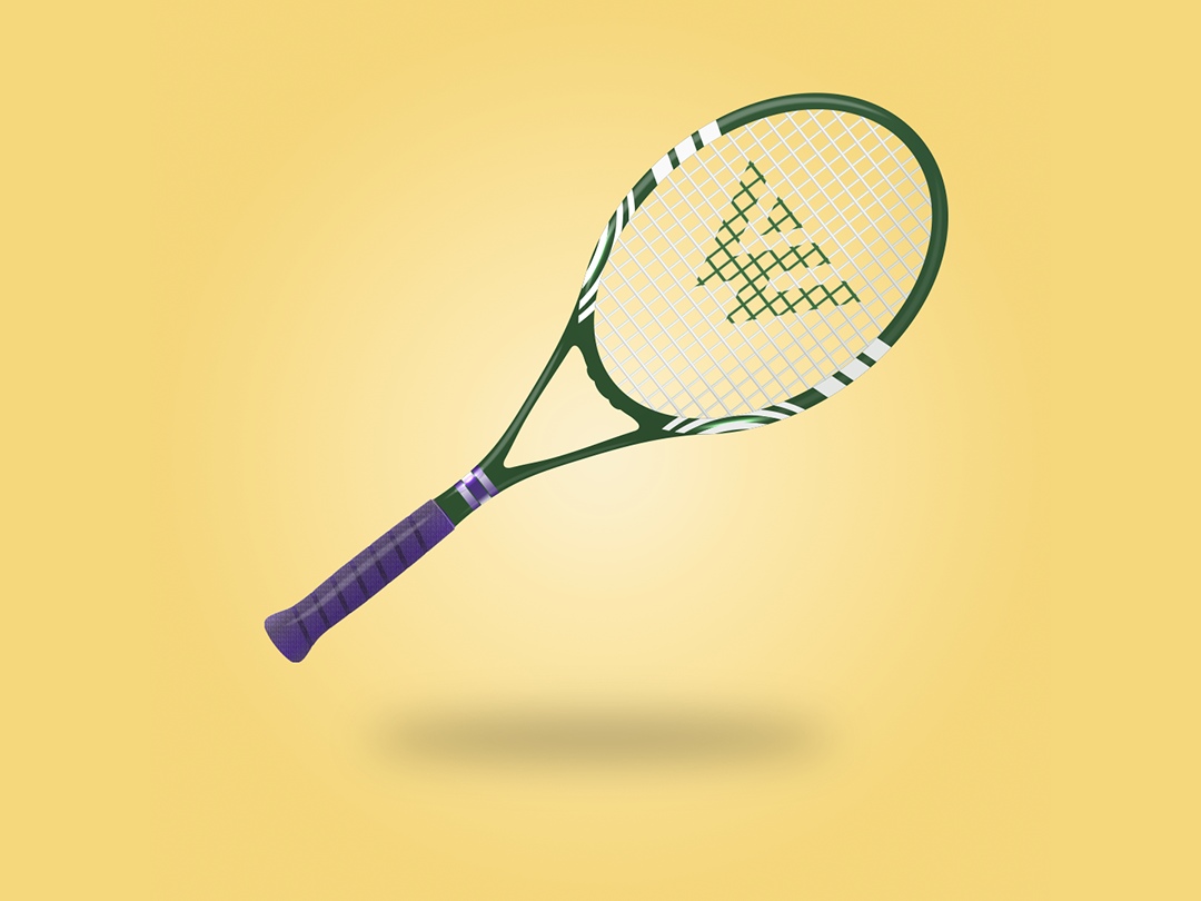 What'bledon roland garros tennis animation campaing inspiration branding colored creative illustrator illustration design