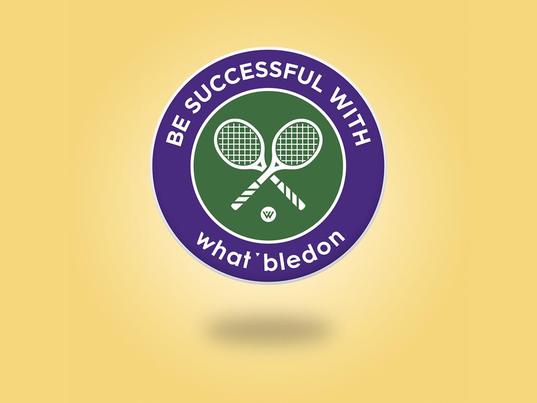 What'bledon roland garros tennis animation campaing inspiration identity typography branding colored creative illustrator illustration design