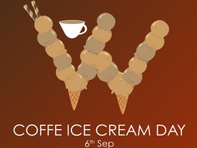 Happy Ice cream Coffee day!