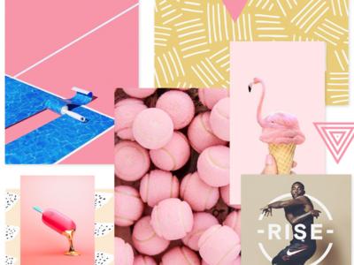 WTZ - Trend July 2019 🤫 trendy trend 2019 july pinterest trend pink inspiration identity illustration branding creative colored design