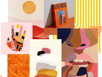 WTZ - August 2019 trend 🤫 trending sunny day sunny orange trend green campaing typography illustrator identity illustration branding creative colored design