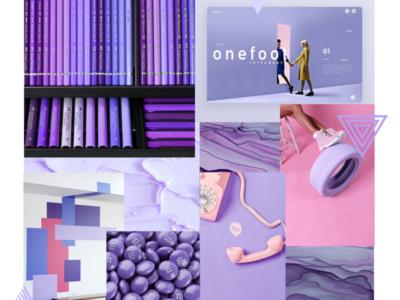 WTZ - October 2019 trend 🤫 purple gradient trend purple ecology ui animation typography illustrator identity illustration branding creative colored design