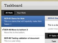 New Taskboard
