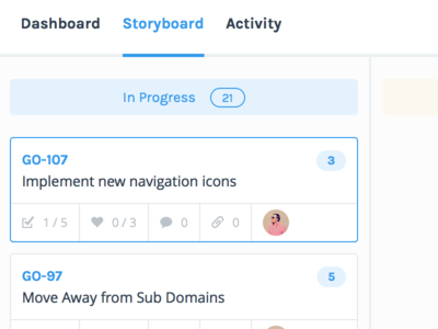 Storyboard project management pm agile scrum