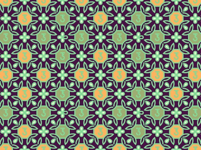 Janaina Faedo Pattern Test traditional tradition floral symbol abstract mark ornament crest architecture
