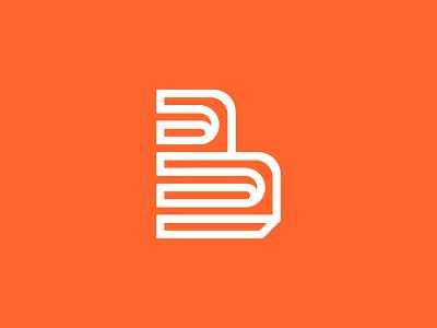 """B"" for Balzan Architecture door stairs collumn brand logo architecture impossible negative arch b"