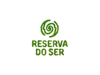 Reserva Do Ser - Grass help helping people culture mind logo holistic bio permaculture grass