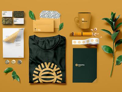 Sumatra Intelligent Environment susntainabilly design leaf behance pattern environmental sumatra sun logo