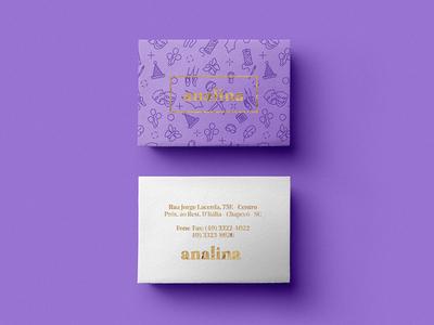 Analina Business Cards