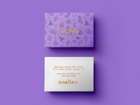 Analina Business Cards