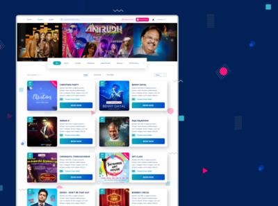 Event Organizer Website