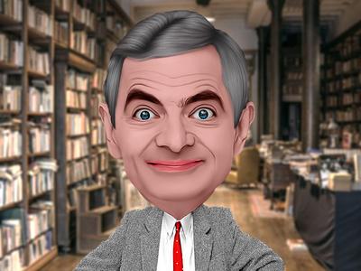 3D ART Caricature Mr.Bean