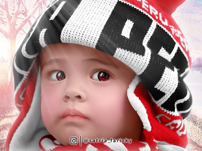 3D cartoon Little boy Peru