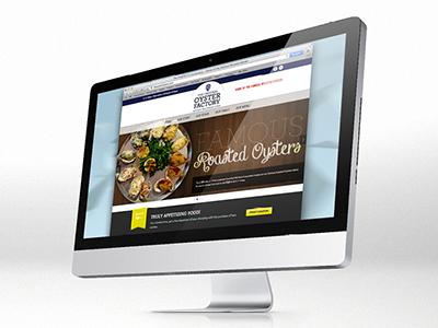 Oyster Factory Website oyster new orleans restaurant website