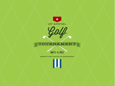 Raices de Esperanza Gold Tournament Logo raices esperanza rde logo golf cuba preppy emblem