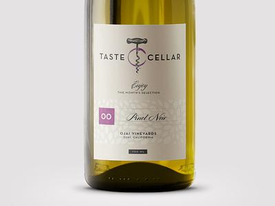Taste Cellar Wine Label taste cellar corkscrew wine label