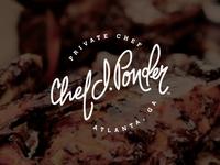 Chef J. Ponder Logo