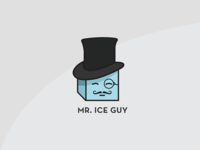 Mr. Ice Guy Logo