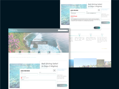 Tourism Website - Add Review