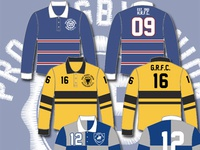 Rugby jersey designs