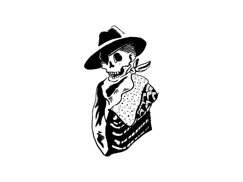 Inktober illustrator portrait ink illustration