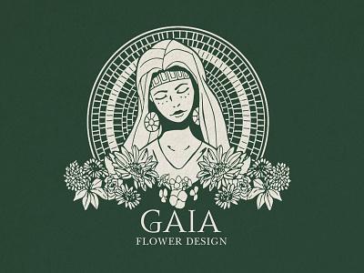 GAIA - Logo illustration branding logo design