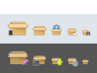 More packages! 16px 22px 32px 44px 48px 64px 96px package iphone cloud pin
