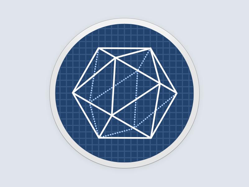 Sketches icon xamarin logo wireframe blueprint sketches