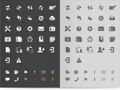 E-mail Client Icons icon mail bw dark bright grayscale application icewarp