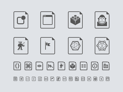 File Type Icons file monodevelop xamarin icon