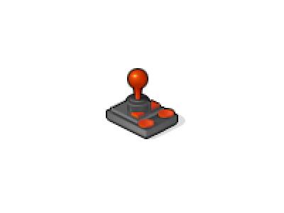 Joy joystick pixel icon twitter