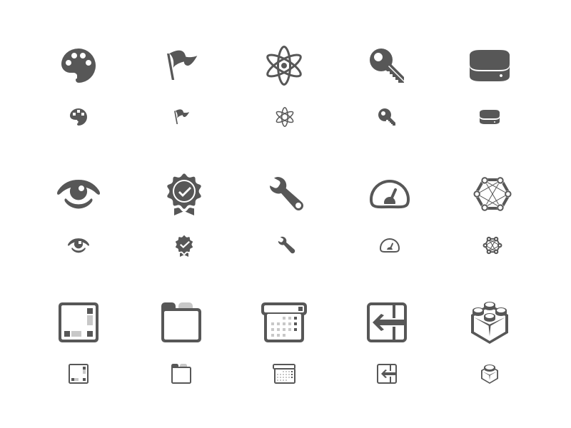 Icon Sheet widget microsoft 16pt icon xamarin
