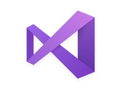 Visual Studio for Mac application logo purple infinity microsoft icon visual studio